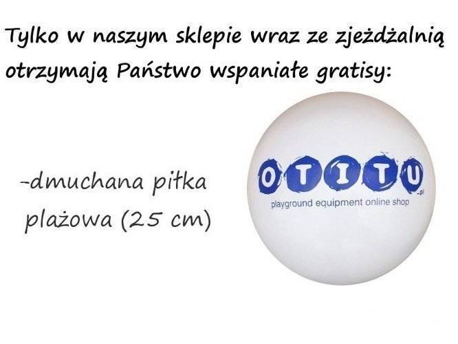 Ślizg HDPE do podestu 1,50 m